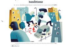 Clod illustration Le Parisien fait-divers le rapt dans le banditisme