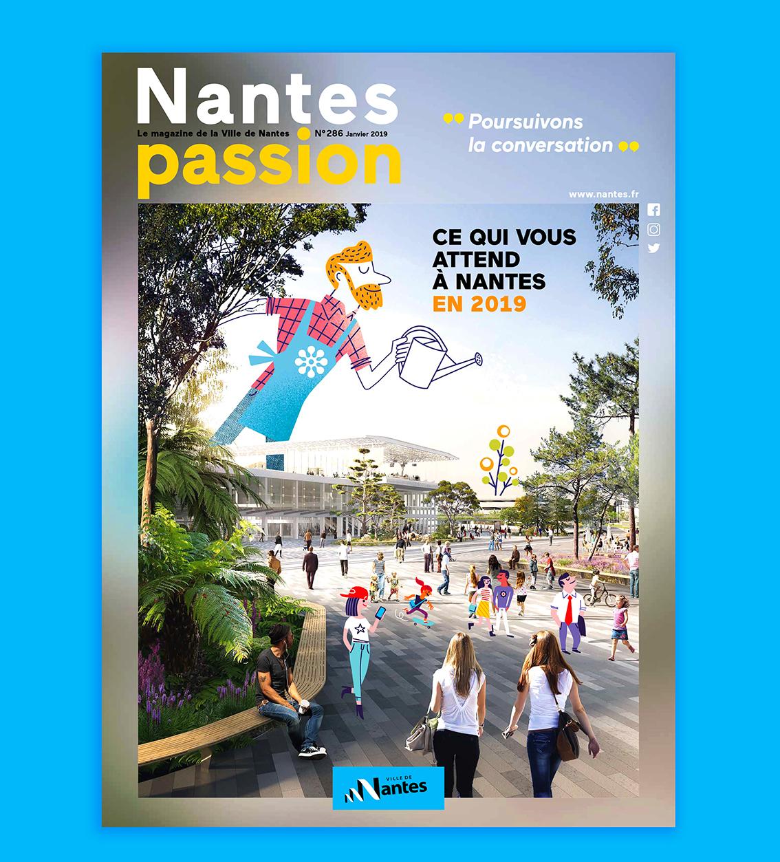 Clod illustration Nantes Passion 286