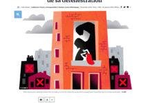 Clod illustration Le Parisien fait-divers violence conjugale