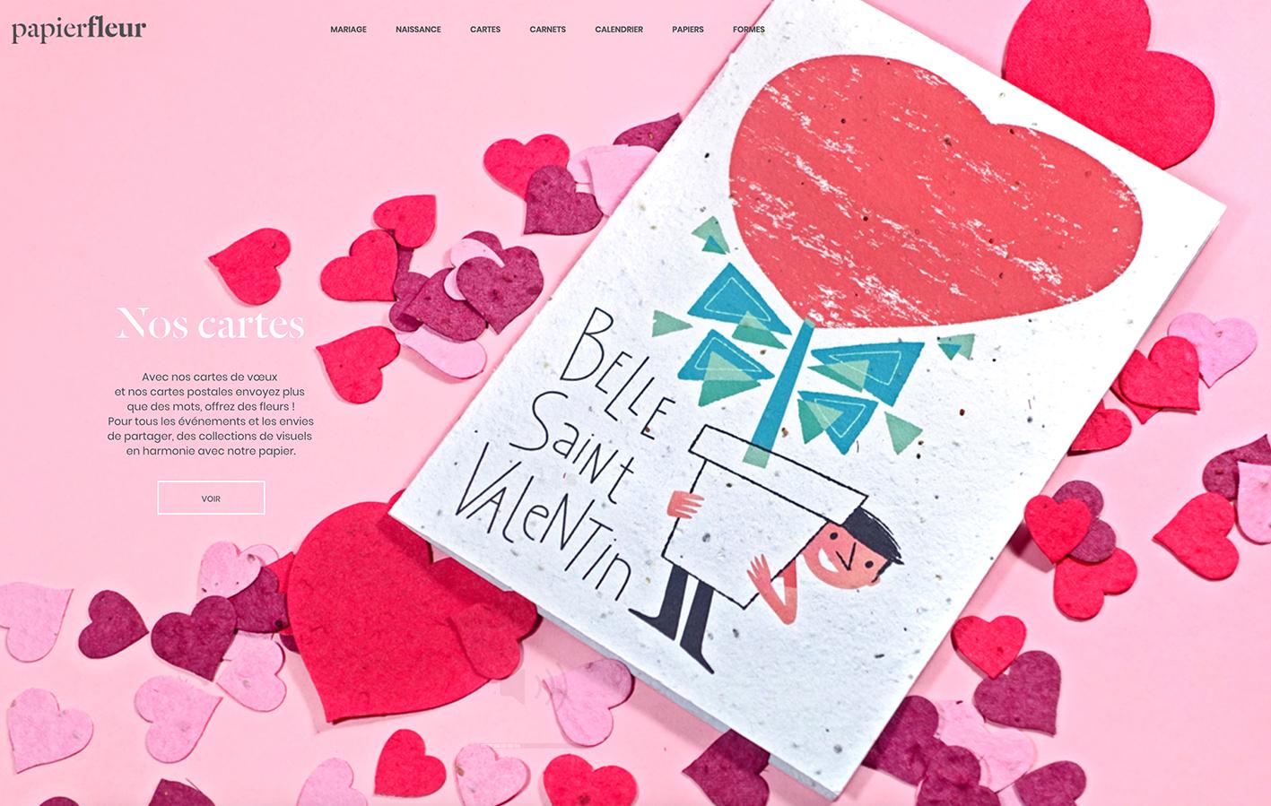 Clod illustration cartes PapierFleur