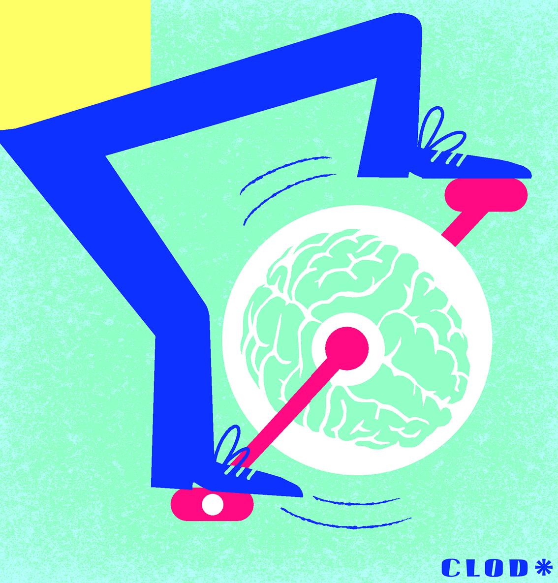 Clod illustration blog le mouvement en trois temps