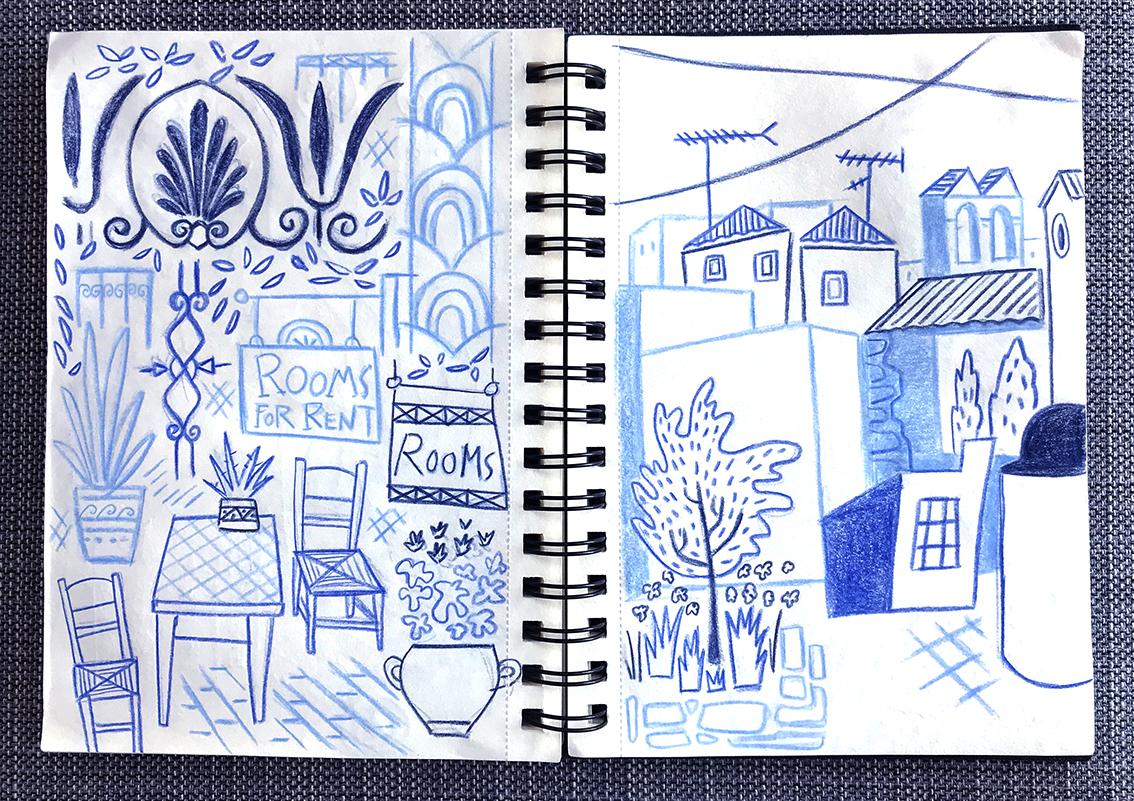 Quel est mon approche du croquis ? Comment la pratique du croquis me permet de réfléchir sur mon métier d'illustrateur ?