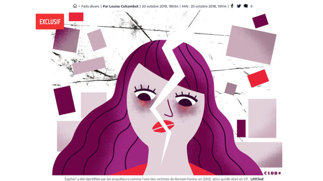 Clod illustration le Parisien du 21 octobre 2018 J'aurais voulu ne pas savoir