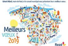Clod illustration voeux 2019 pour la ville de Rezé
