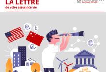 Illustration réalisée pour le lettre de votre assurance vie, du Crédit Agricole