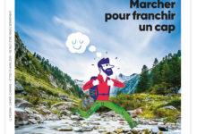 Clod illustration le Pèlerin Magazine dossier marcher pour franchir un cap