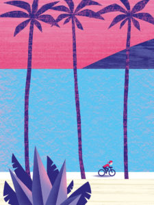Tirage d'art les petits vélos de Clod