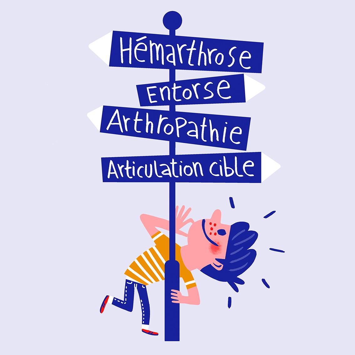 Brochure à destination des enfants hémophiles : ce qu'il faut savoir sur la douleur
