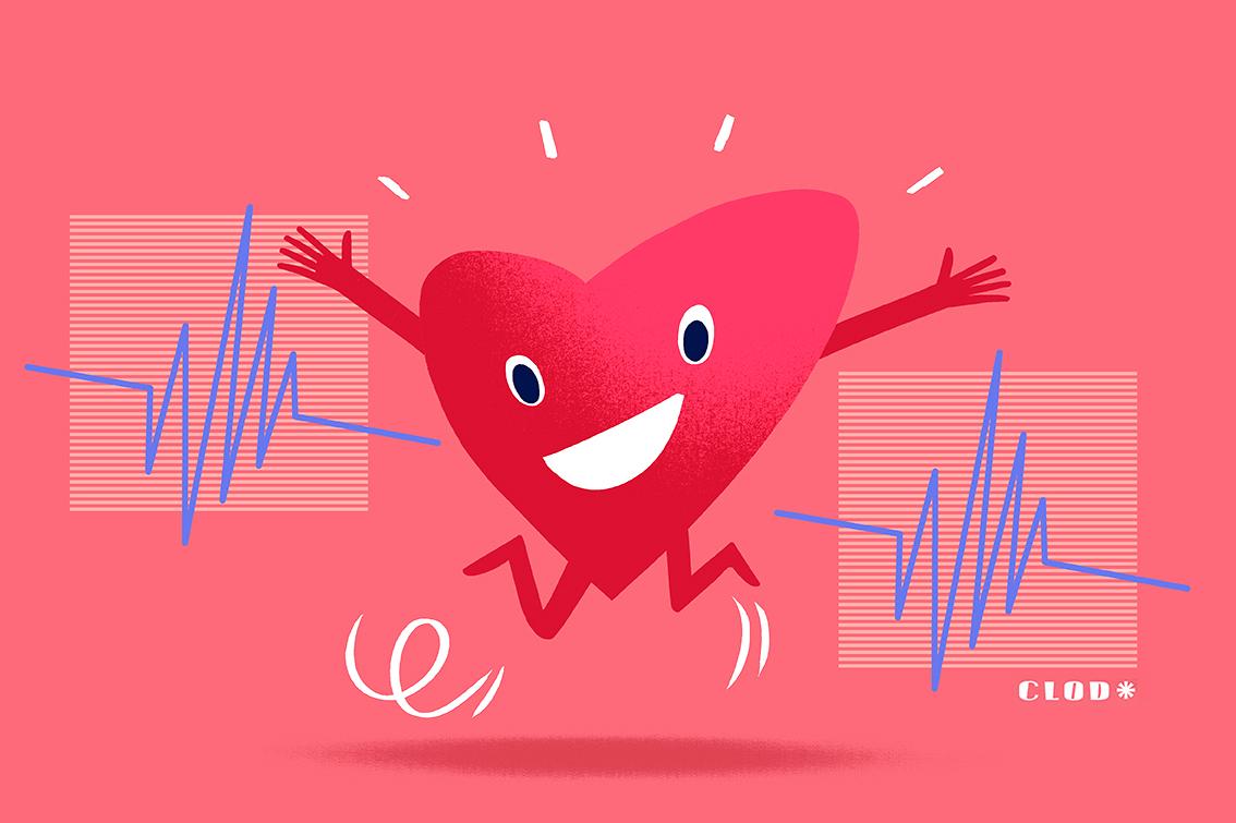 Clod illustration Mutualité Française prévention cardiovasculaire