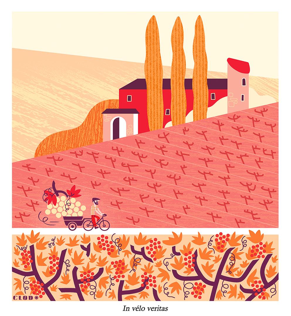 Les petits vélos de Clod, magazine Panorama