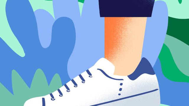 Quatre modèles de chaussures