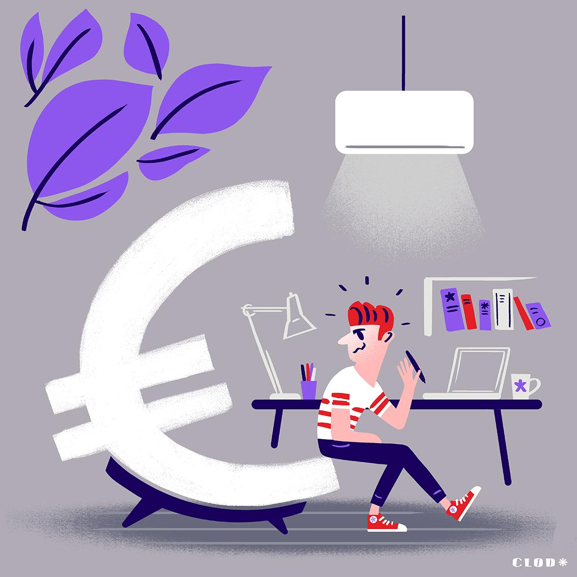 Clod illustration blog le rapport de l'illustrateur à l'argent