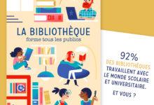 Carte postale Association des Bibliothécaires de France