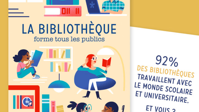 Carte postale Association des Bibliothécaires de France
