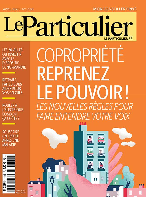 Clod illustration pour le magazine Le Particulier