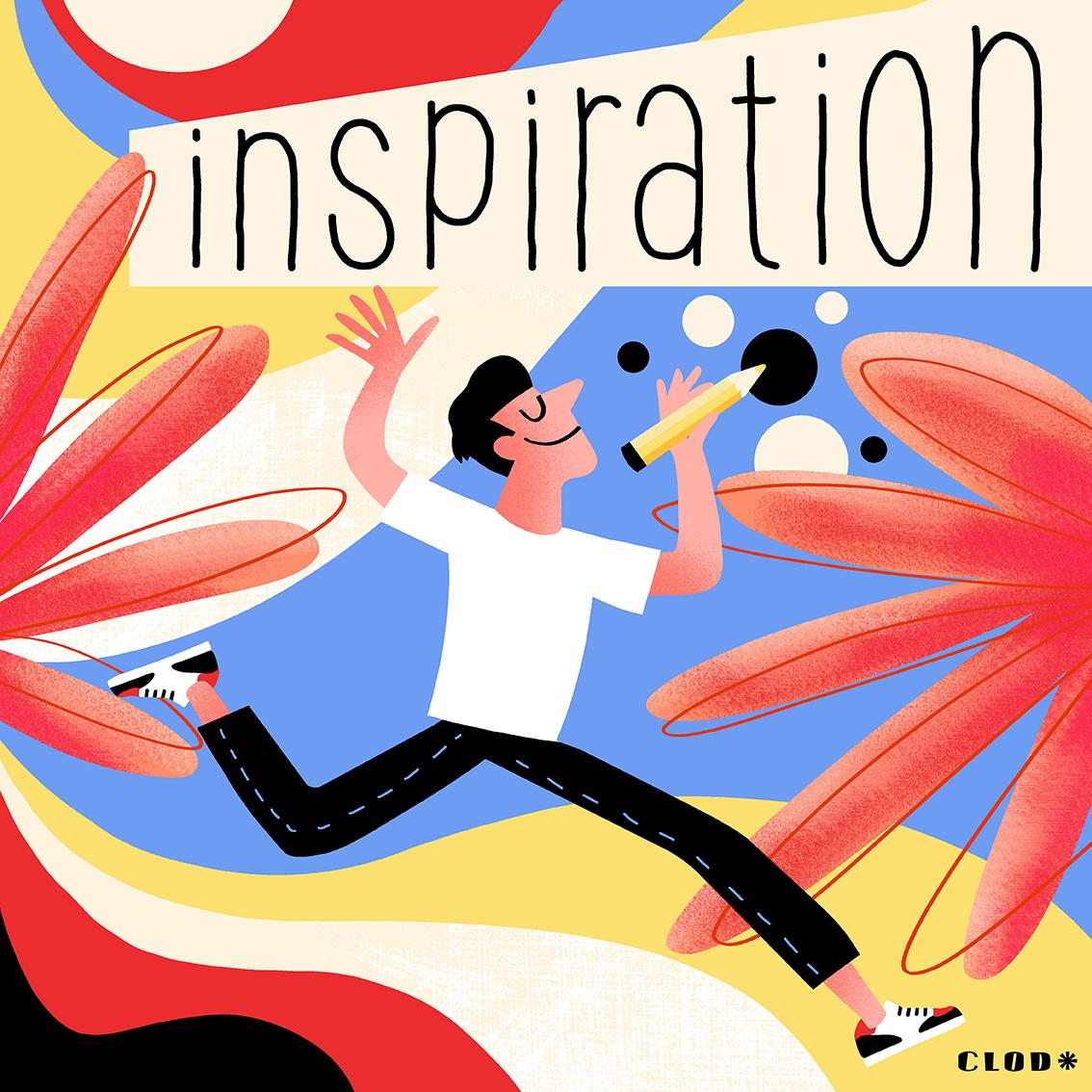 L'illustrateur vu de l'intérieur : l'inspiration