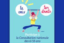 Consultation nationale des 6/18 ans UNICEF France