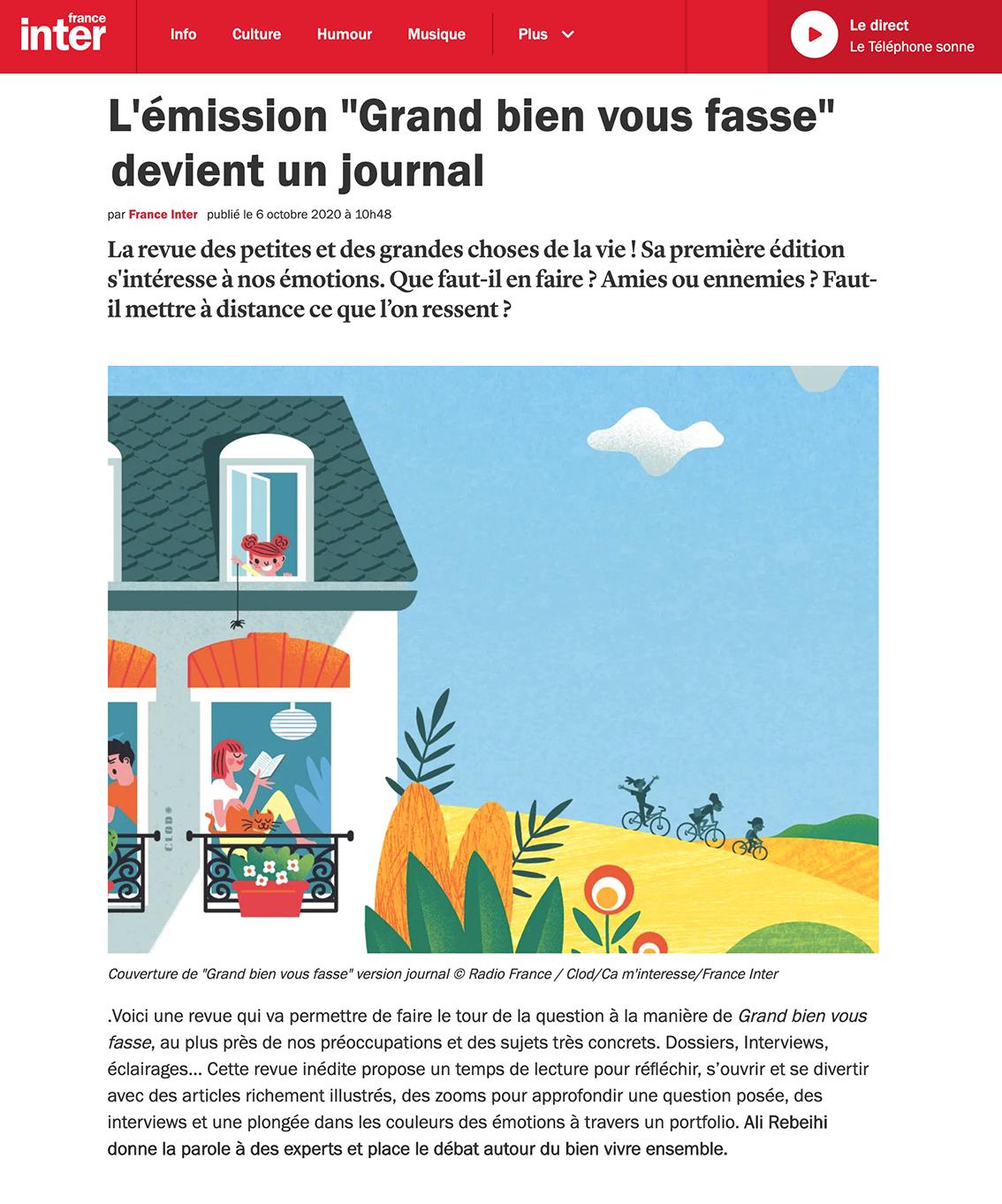 Clod illustration Grand Bien Vous Fasse