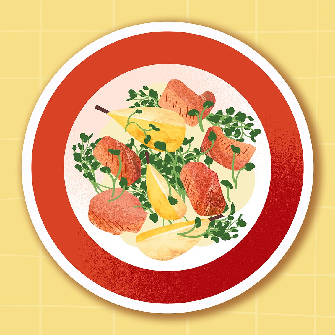 Clod illustration cuisine : les légumes