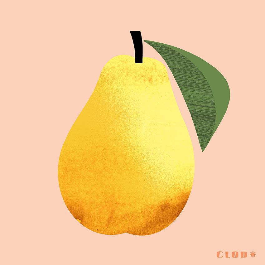 Clod illustration les fruits cuisine et pâtisserie