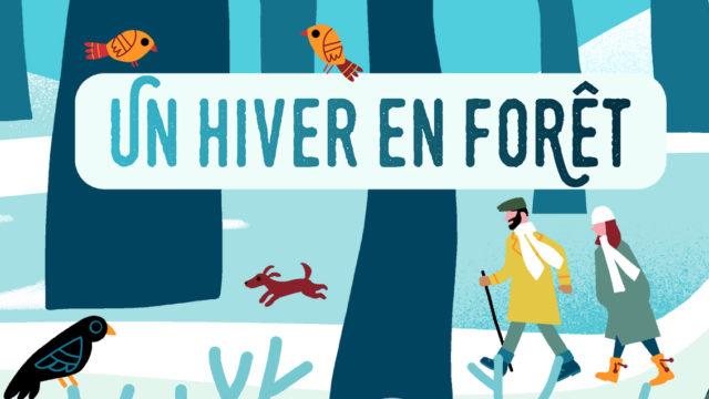 clod illustration ONF un hiver en forêt