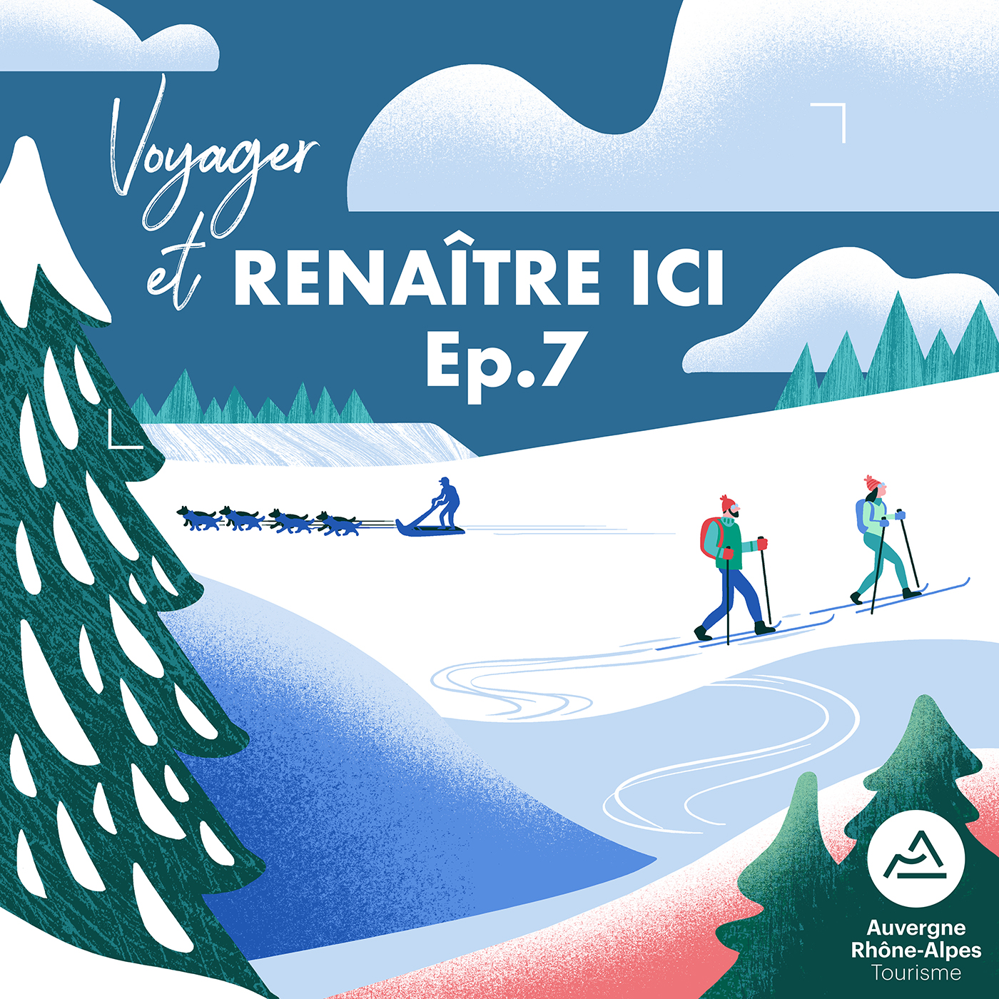 Clod illustration podcast région Auvergne-Rhône-Alpes Renaître-ci