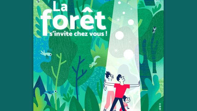 Clod illustration ONF Journée Internationale des Forêts