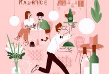 Clod illustration, allons boire un café chez Maurice
