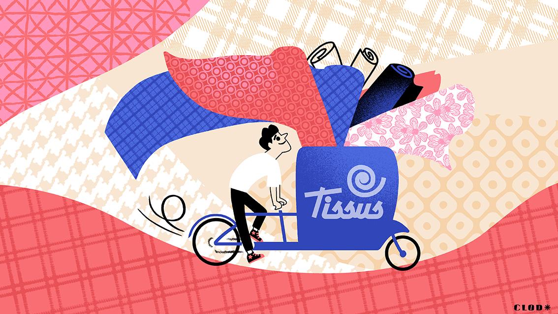 Clod illustration Ouest-France ils ont choisi de vivre sans voiture