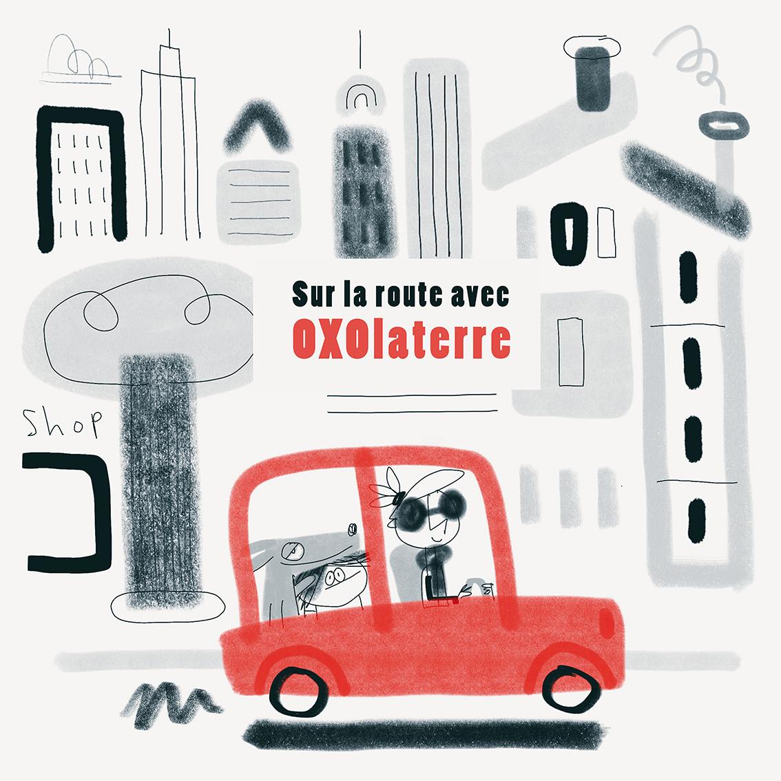 Clod Blog : sur la route avec OXOlaterre