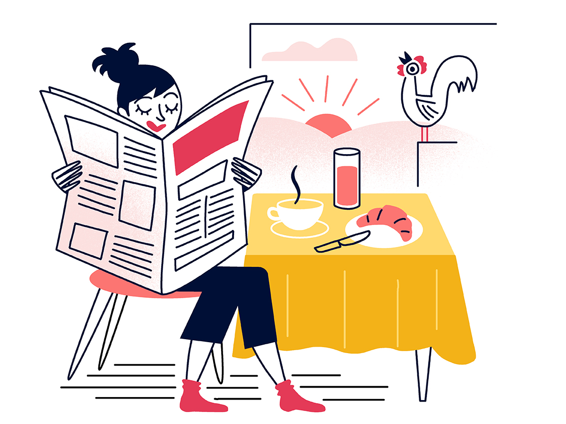 Clod illustration Ouest-France illustrations abonnement