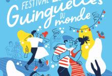 Clod illustration affiche Festival les guinguettes du monde à Corbeil-Essonnes